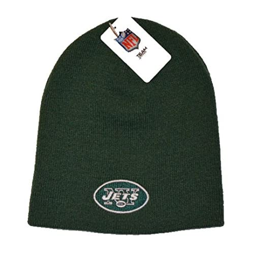 big sale 937ef db0dc Reebok NFL Cuffless Team Logo Beanie Hat - Football Knit Skull Cap