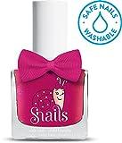 Snails Kinder Nagellack viele Farben abwaschbar mit Wasser und Seife (Cheerleader (pink metallic))