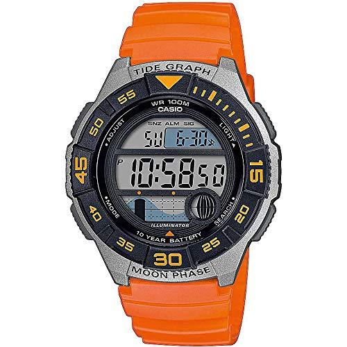 Casio Reloj Digital para Hombre de Cuarzo con Correa en Resina WS-1100H-4AVEF