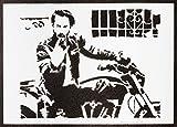 John Wick Poster Plakat Keanu Reeves Handmade Graffiti Street Art - Artwork