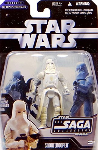 Hasbro Snowtrooper Battle of Hoth TSC011 Star Wars The Saga Collection 2006