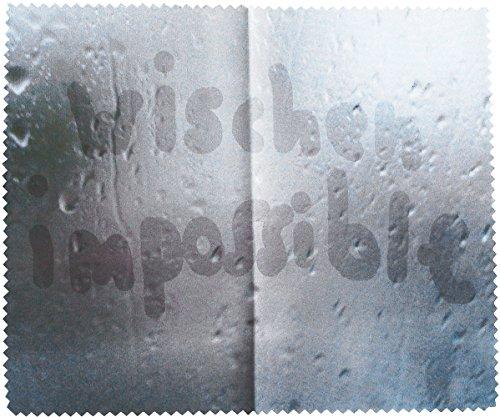 Brillenputztuch 18 x 15 cm • 44258 ''Wischen impossible'' von Inkognito • Künstler: INKOGNITO © Martin Scheffler