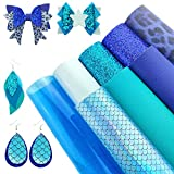 AOUXSEEM 8 Stück gemischte blaue Serie A4 Größe