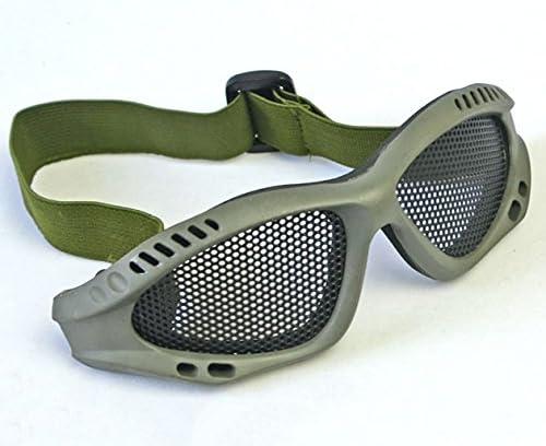 2021 autumn and winter Max 90% OFF new JustBBGuns Airsoft Tactical Metal Mesh Goggles Adjustable