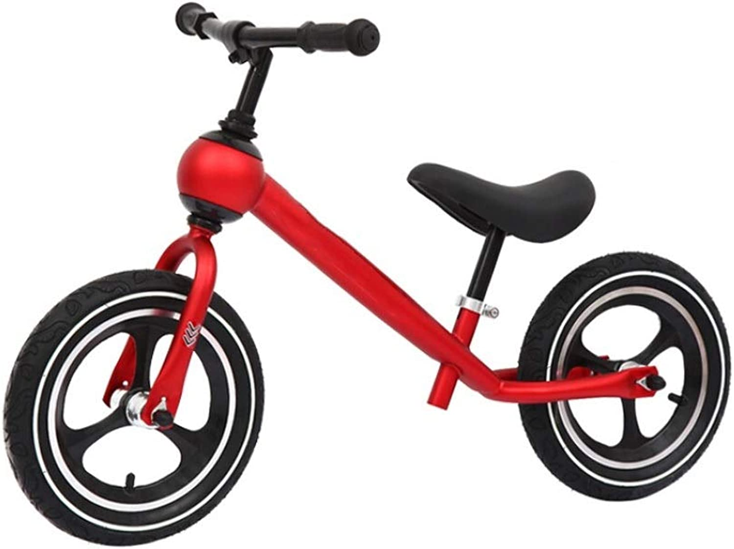 Chenglian Kids' Balance Bikes Balance Bike, No Pedals Balance Bike, Lightweight Adjustable Handlebar And SeatWalking Bicycle, For Kids Ages 2 3 4 5 6 Years Old (color   Red)