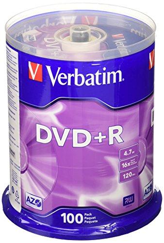 VER95098 - Verbatim DVDR Discs