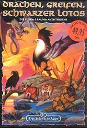 Drachen, Greifen, Schwarzer Lotos: DSA Kreaturen-Box mit 3 Bänden