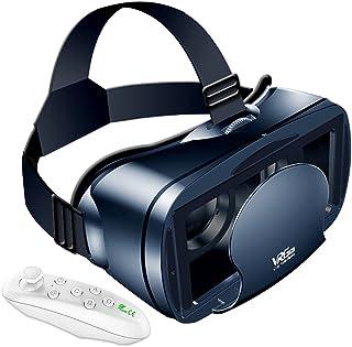 Twinklg VRゴーグル vr ゴーグルスマホ用 VRマウントディスプレイ VR用 コントローラー付 5~7インチスマホ対応 近視/遠視適用 【12カ月安心保障】入学祭プレゼント