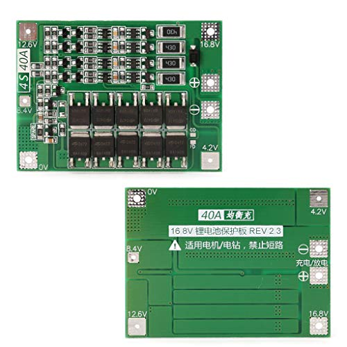 JENOR 4S 40A 14.8V 16.8V Li-Ion-Lithium-18650-Batterie BMS-Platinenschutzbrettwaage