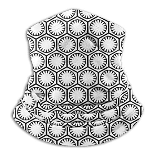 brandless Face Mask The First Order - White Ski Mask Hat Neck Gaiter Headwear for Women Men
