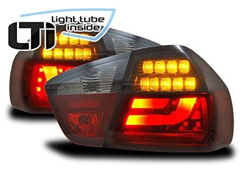 LTI-achterlichten set BMW (E90) helder glas/rood/rook BJ 05-08