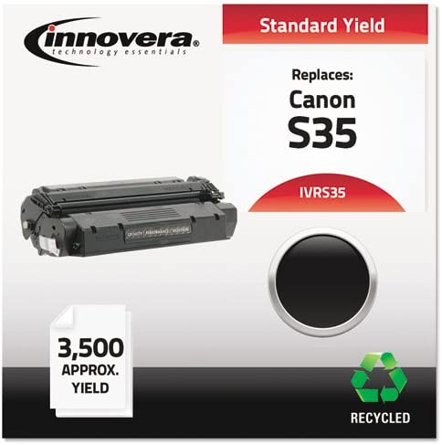 Innovera Remanufactured Toner Cartridge-Replacement for 7833A001AA (S35), Black