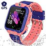 PTHTECHUS GPS Smartwatch Kinder Armband - GPS Uhr Kinder Smart