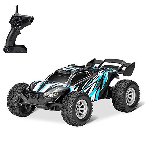 Ajcoflt S658 RC Cars Mini carro com controle remoto Para substituição crianças 2.4GHz 1:32 RC Car com luz LED 20KM / H carro de corrida de alta velocidade
