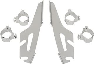 Memphis Shades MEK1940 Black Plate-Only Hardware Kit fits Kawasaki VN1600 Vulcan Classic Models 2003-2008