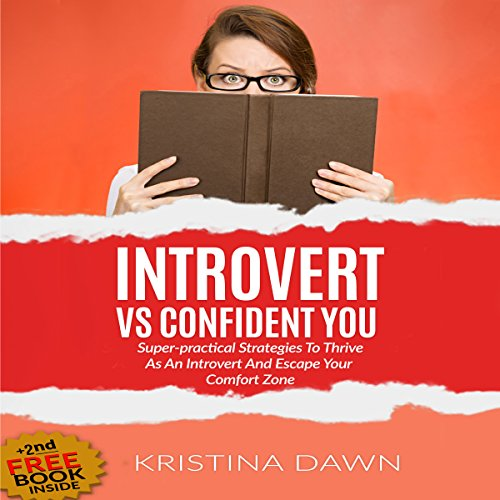 Introvert vs Confident You audiobook cover art
