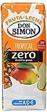 Leche Fruta Don Simon - Bebida refrescante mixta de zumo de frutas y leche tropical, 200 ml, pack de 6