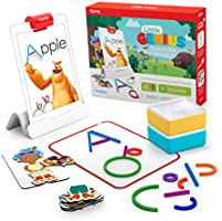 Osmo - Little Genius Starter Kit for iPad - 4 Educational Learning Games - Ages 3-5 - Phonics & Creativity - STEM Toy...