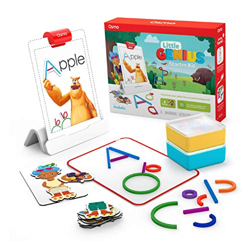Osmo - Little Genius Starter Kit for iPad - 4 Educational Learning Games - Ages...