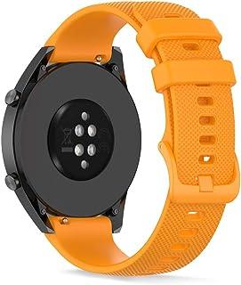 22mm Bande de Remplacement en Silicone, Ficoean Bracelet de Montres Compatible avec HUAWEI Watch GT Active/ GT2 Pro/ GT 2...