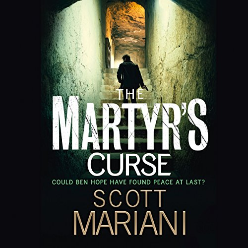 The Martyr's Curse audiobook cover art