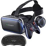 IGRNG Smartphone VR VR Virtual Reality Casque Lunettes 3D, 360 ° Espace à 3 Dimensions Tout-en-Un tête-Casque pour 4.7-6.0 monté Pouces téléphones Mobiles sur Le marché