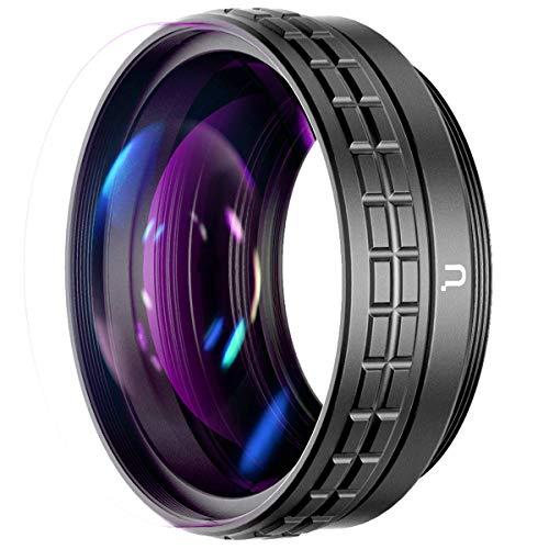 Weitwinkel Objektiv für Sony ZV1 ULANZI WL-1 18 mm Weitwinkel & 10X Makro 2-in-1 Zusatz Objektiv für Sony ZV-1