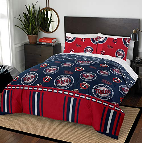 Northwest MLB Minnesota Twins Full Bed in a Bag Complete Bedding Set #311005905