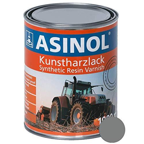 Kunstharzlack RAL 7037 Staubgrau 1.000 ml ASINOL