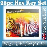 Hex/Allen Keys Set 20pcs (1229) [並行輸入品]