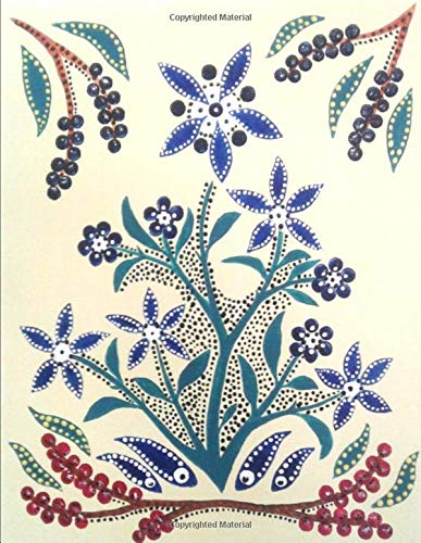 Slavic Folk Art Notebook 2: Blank Line Writing Journal 120 pages 8.5'x11' (Anthony's Art)
