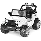 Costzon Ride on Car, 12V Battery Powered Ride on Truck w/ Parental...