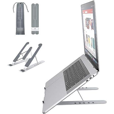 """VersionTECH. Support Ordinateur Portable, Support PC Portable à 6 Niveaux Réglables, Ergonomique Léger Compatible avec Acer Apple MacBook Air Pro Lenovo et Autre Laptops Tablettes Livres 10"""" - 15,6"""""""