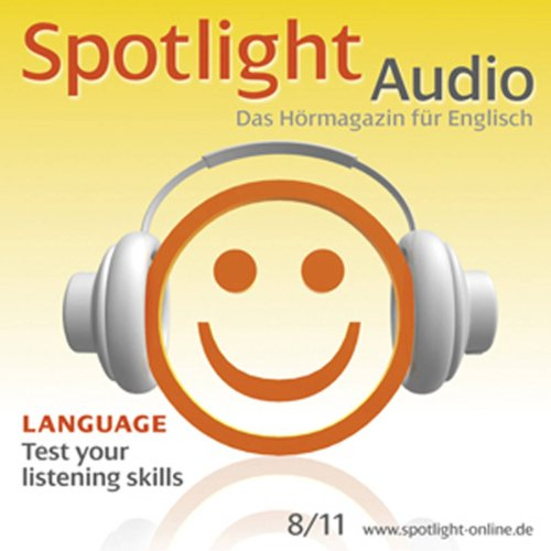 Spotlight Audio - Test your listening skills. 8/2011 Titelbild