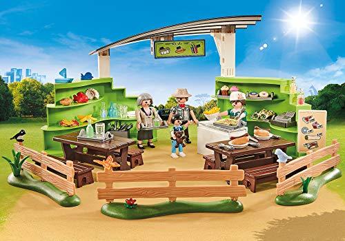 PLAYMOBIL Zoo-Restaurante con Tienda 9871