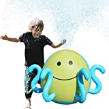 Image: Ginkago Inflatable Sprinkler Beach Water Spray Ball, Sprinkle Mat Beach Water Ball Summer Pool Toys for Fun for Children Lawn Outdoor