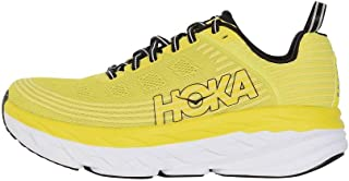 HOKA ONE ONE Men's Bondi 6 Running Shoe Citrus/Anthracite, 8.5 M US Men
