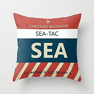 airport code pillows