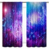Cinbloo Galaxy Curtains Rod Pock...