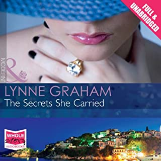 The Secrets She Carried                   By:                                                                                                                                 Lynne Graham                               Narrated by:                                                                                                                                 Antonia Beamish                      Length: 5 hrs and 47 mins     14 ratings     Overall 4.4