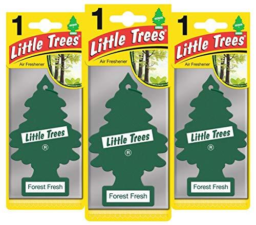 Little Trees LTZ003 - Ambientador (Fragancia Fresca más Fresca, 3 Unidades)
