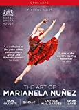 Art of Marianela Nuñez (THE) - Don Quixote / Giselle / La fille mal gardée / Swan Lake [Ballets] (Royal Ballet, 2005-2016) (4-DVD Box Set) (NTSC)