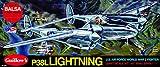 Maquette en bois - P-38 Lightning