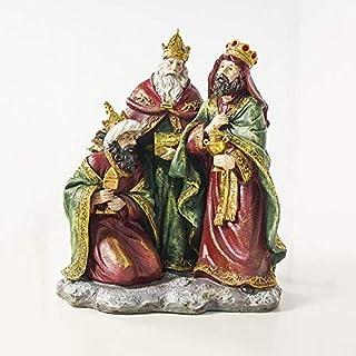 Seasonal Decoration for Christmas 2 PCS Christmas Creative Resin Painted Decorations Decor Oranments