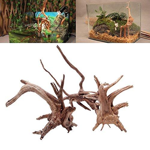 UEETEK Driftwood de la rama natural de las decoraciones del acuario para la decoración del acuario