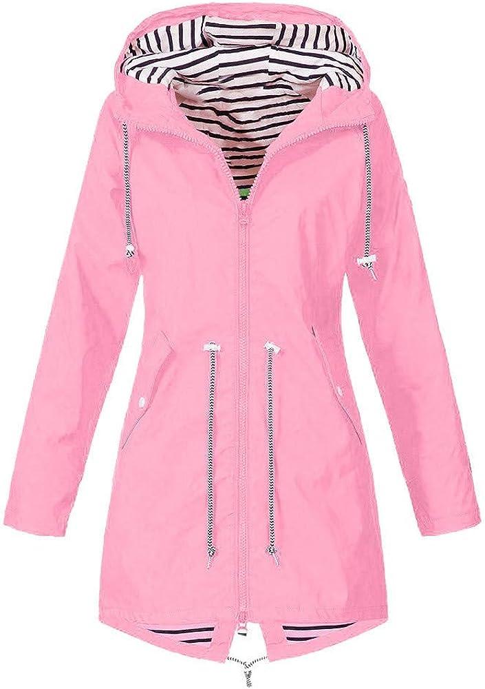 Max 61% OFF Rain Jacket Women Outdoor Superior Jackets Windproof Ra Hooded Waterproof