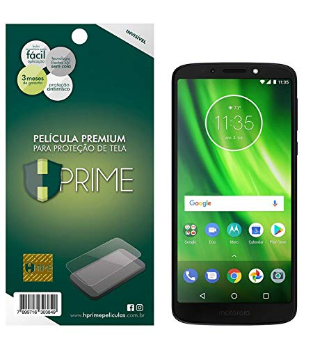 Pelicula Hprime invisivel para Motorola Moto G6 Play, Hprime, Película Protetora de Tela para Celular, Transparente