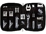 Lezyne Werkzeug-und Zubehör Koffer Port a Shop Pro, Inhalt: Siehe Artikeltext Nickel, 1-SP-PORTAPRO-V204, schwarz, 9/-10/-11/-12-fach