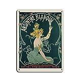 Vintage Französisches Werbeposter Absinthe Blanqui Art