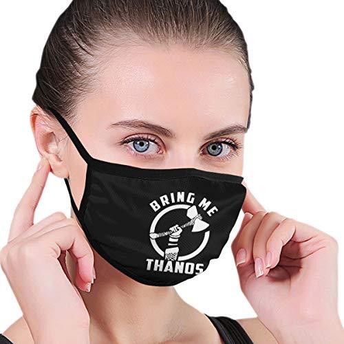 Breng me Thanos masker voor mannen en vrouwen - masker kan worden gewassen herbruikbare masker een grootte meerdere patronen